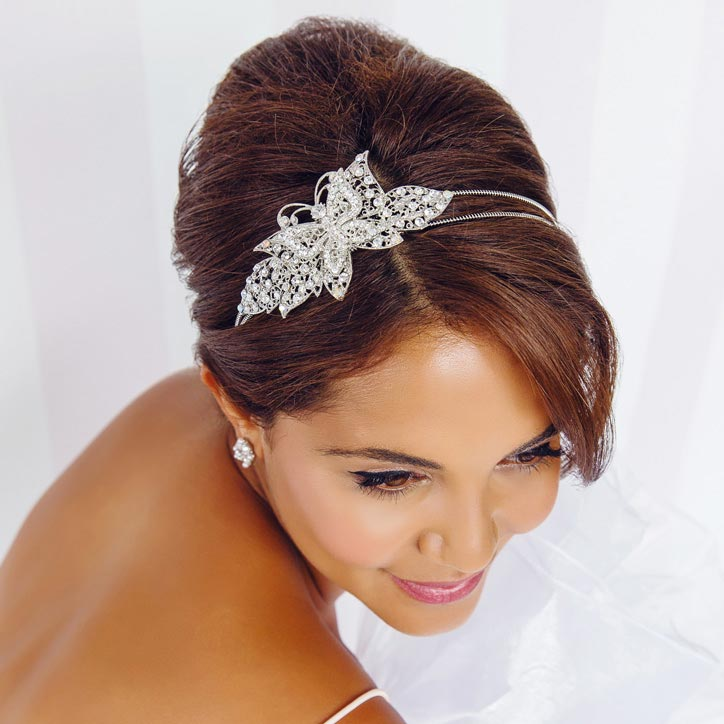 Pretty Bridesmaid Hair Accessories