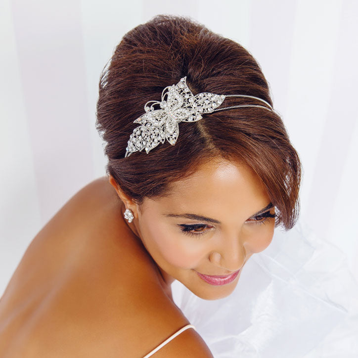 Side tiara collection for bridesmaids