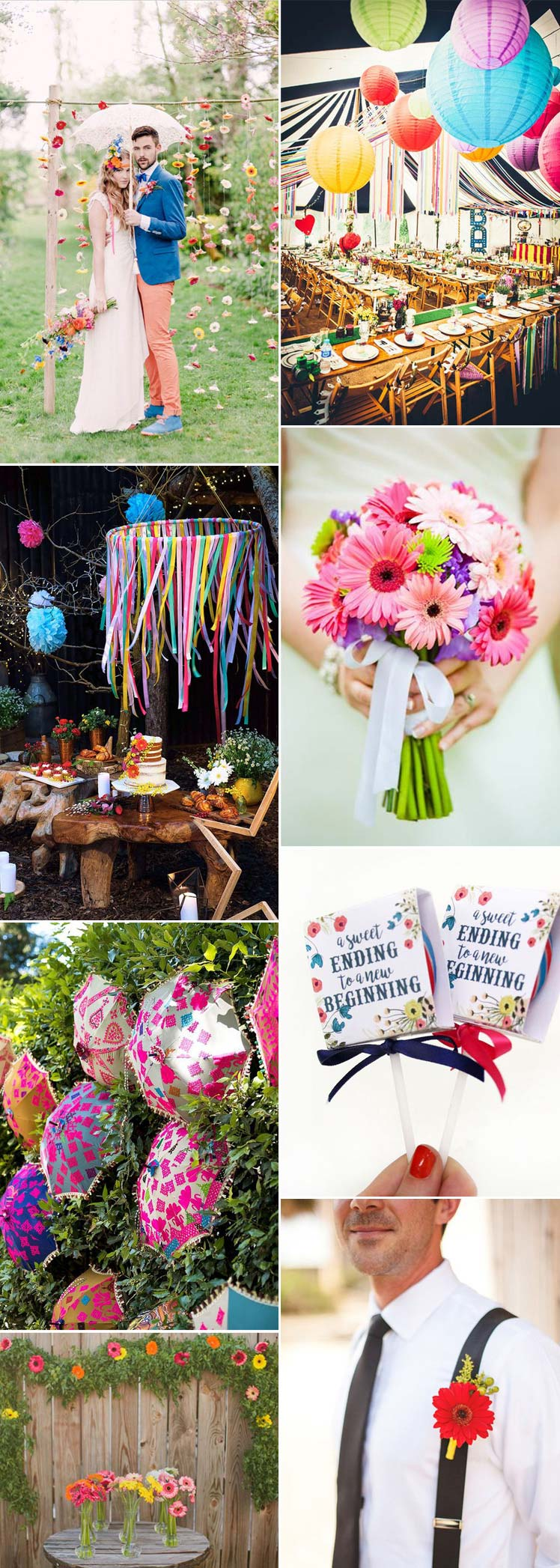 gerbera wedding flower ideas