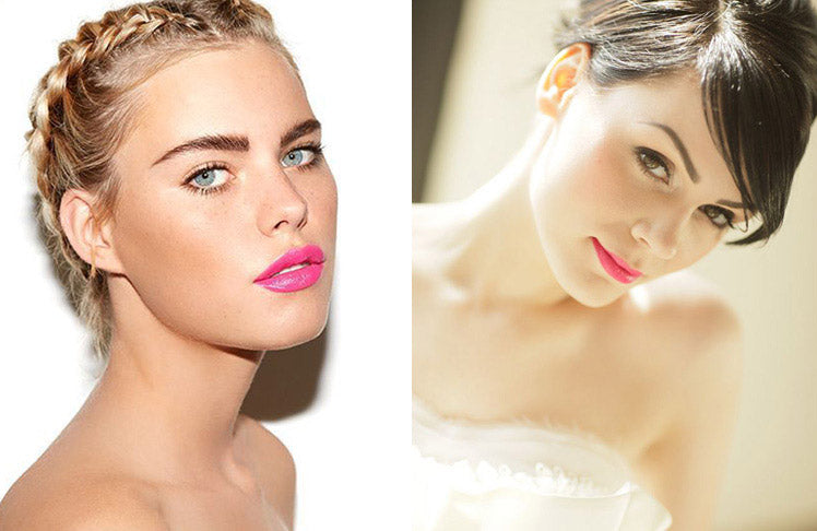 Bright lip ideas for your wedding day make-up