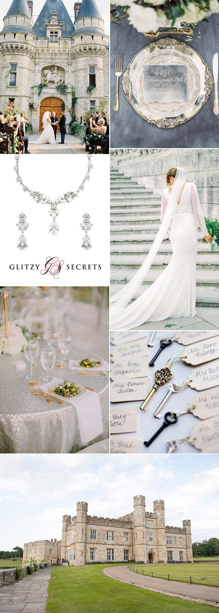 sensational castle wedding inspiration