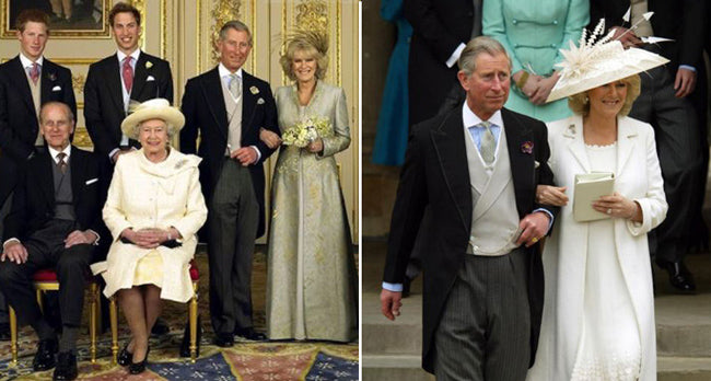 Charles and Camilla wedding day
