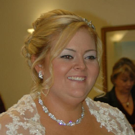Claire wears Bejewelled Starlet Necklace by Glitzy Secrets