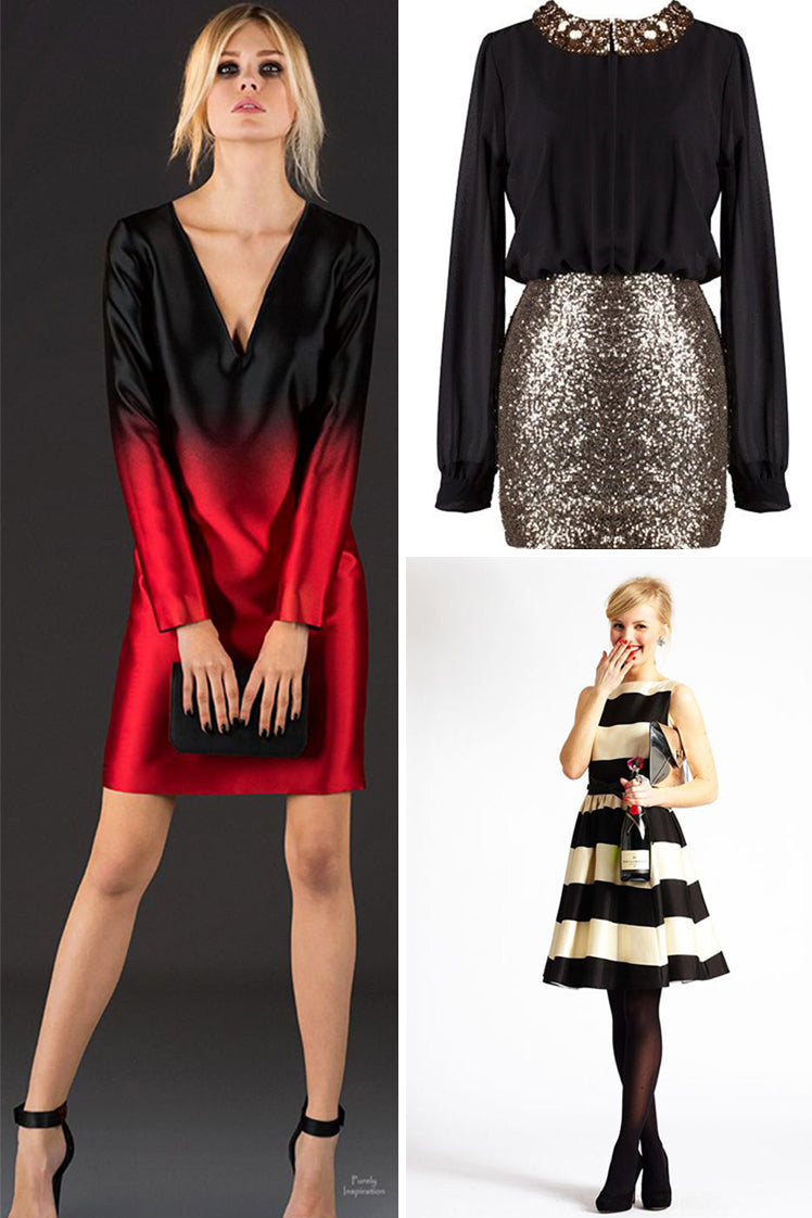 Get the style for a cocktail dress event