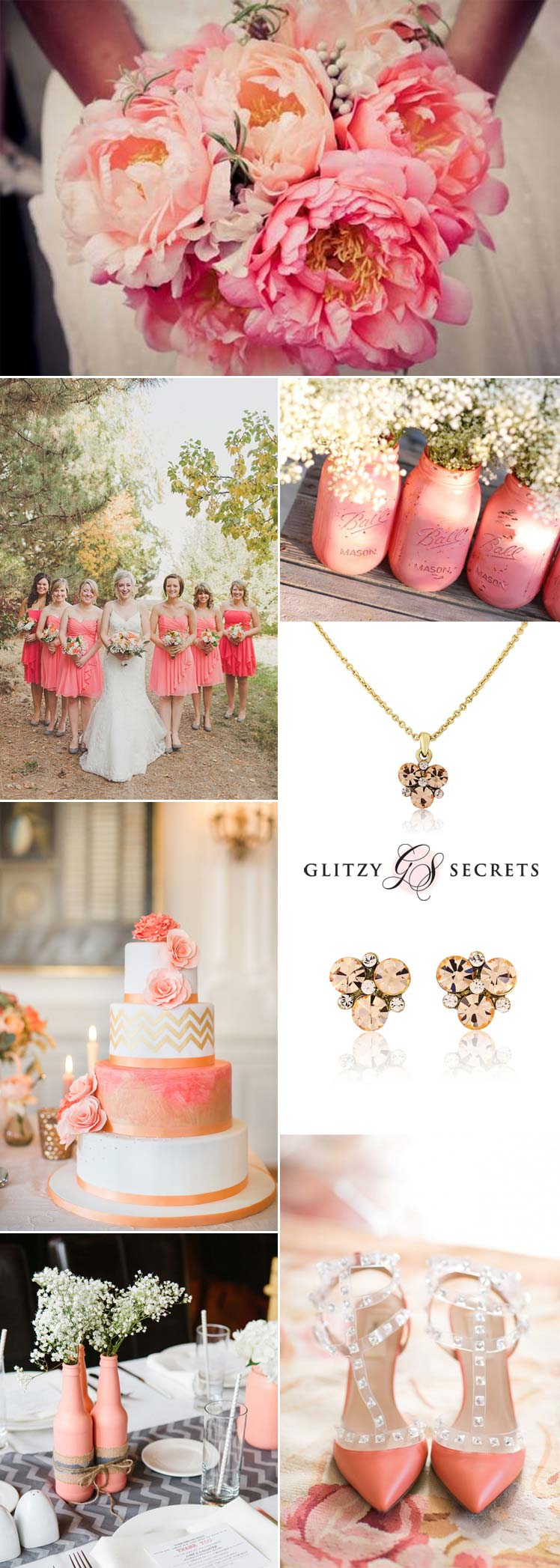 beautiful coral wedding ideas