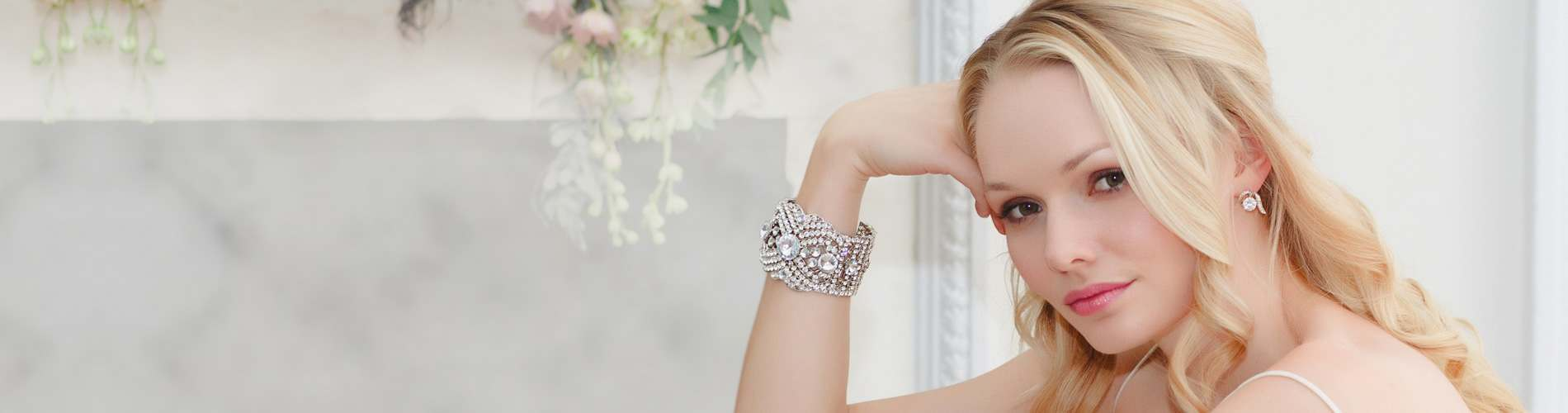 Crystal Wedding Jewellery Collection