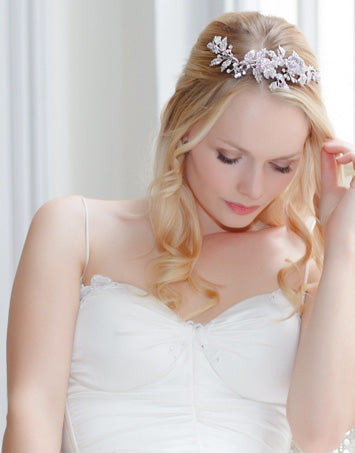 Browse our Crystal Wedding Tiaras