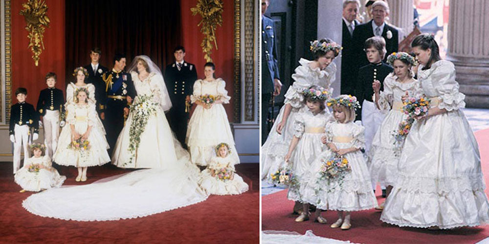 Princess Diana's Bridesmaids
