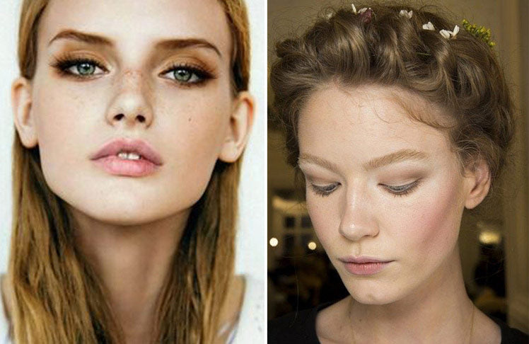 Earthy bridal make up ideas
