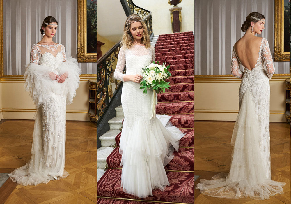 Tulle gowns for feminine bridal style