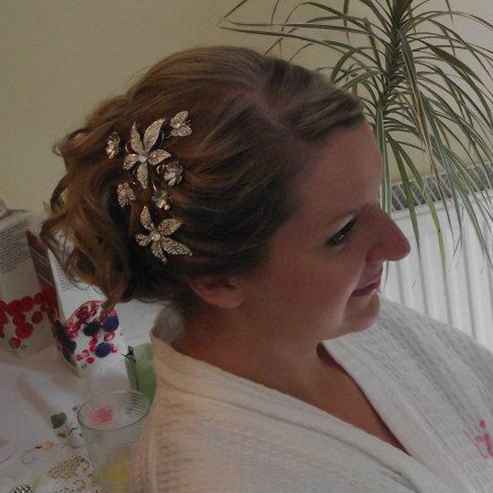 Emma wears Enchanting Beauty Headpiece by Glitzy Secrets