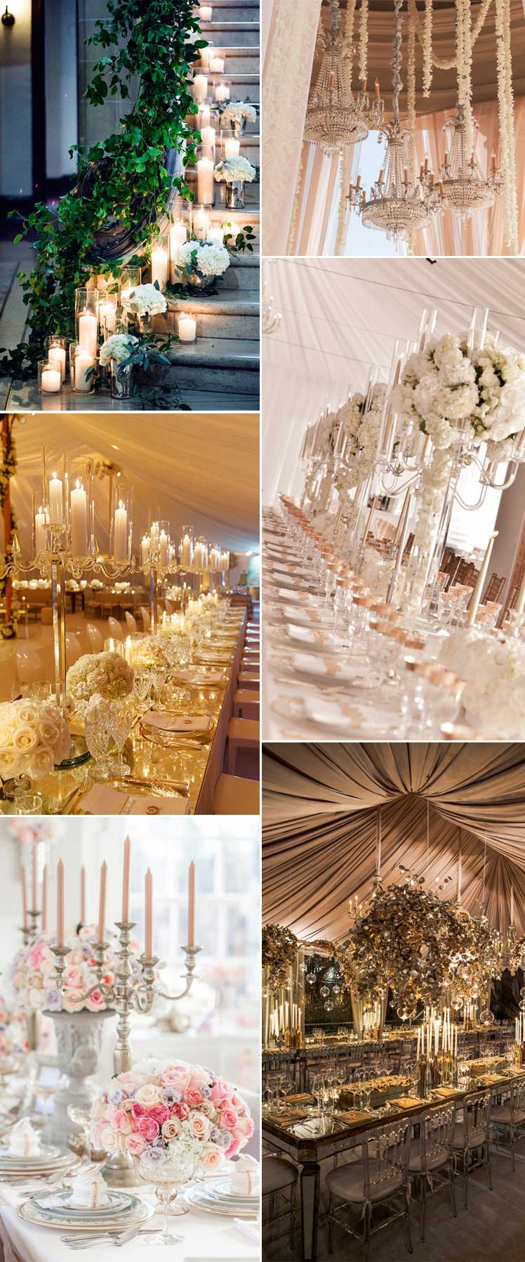 statement wedding decor