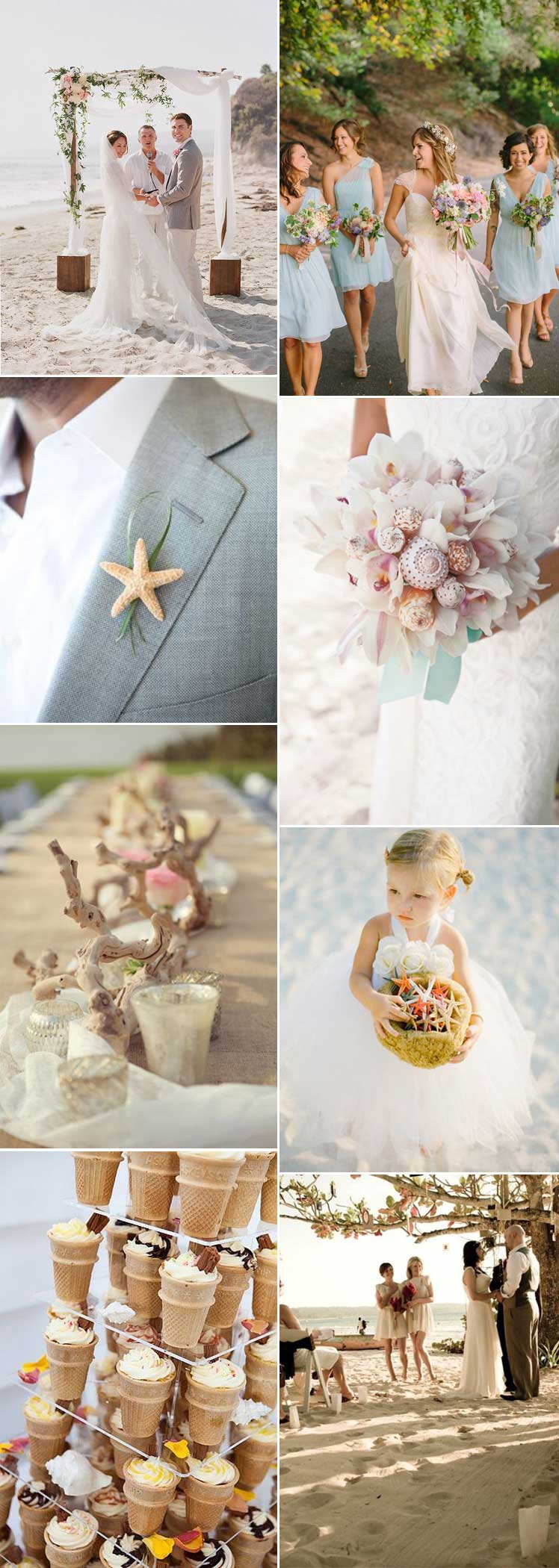 Ideas for marrying on the beach