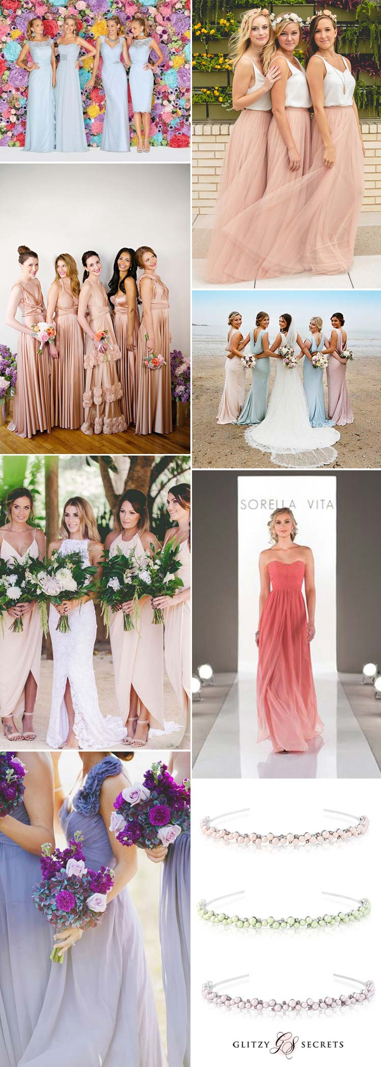 Beautiful Bridesmaid Beach Dresses ideas