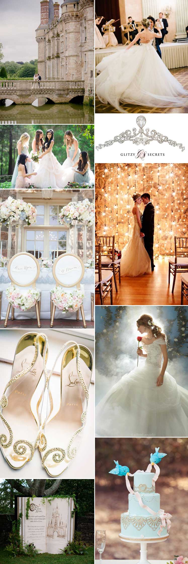 Fairytale wedding theme ideas