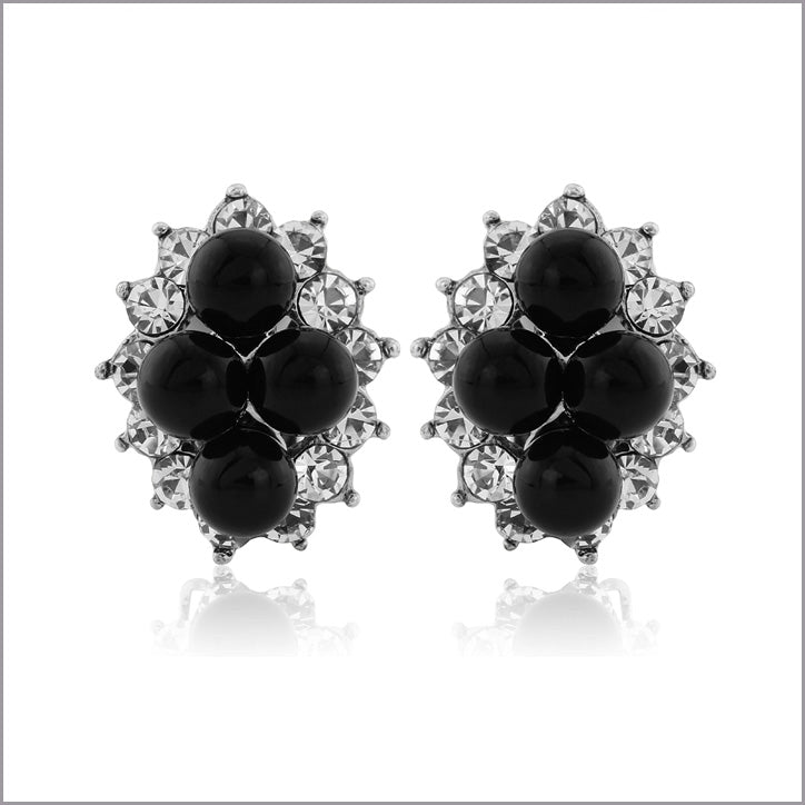 Collection of fashion clip on earrings