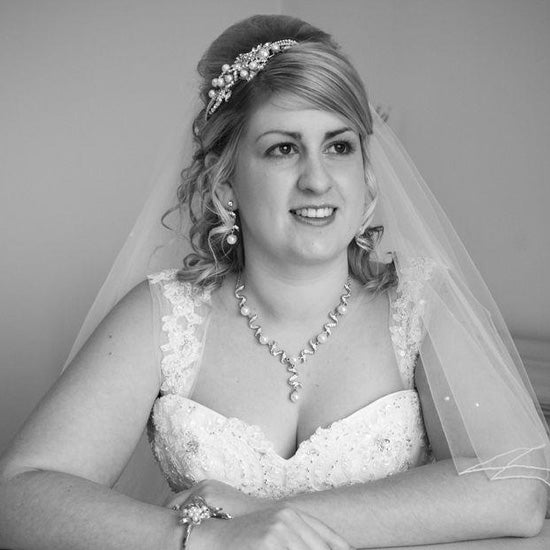 Felicity wears Romance of Enchantment Tiara by Glitzy Secrets
