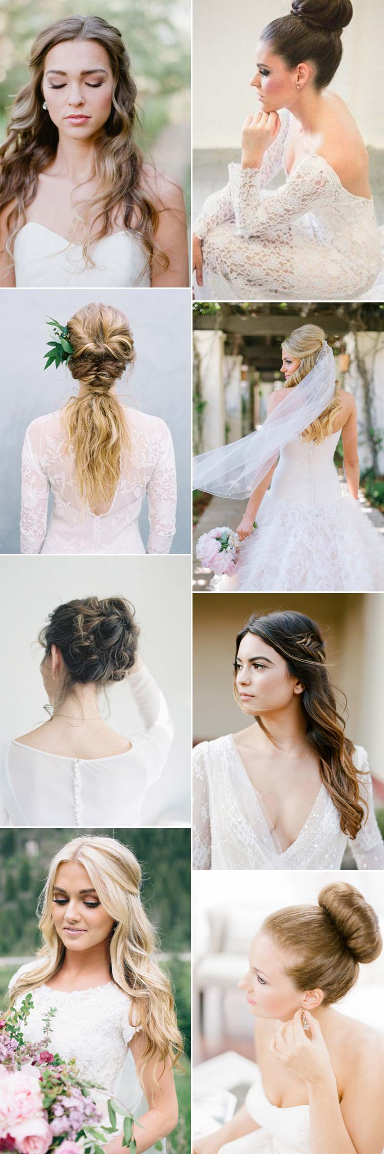 Beautiful Wedding Hairstyles for 2017 Brides | Glitzy Secrets