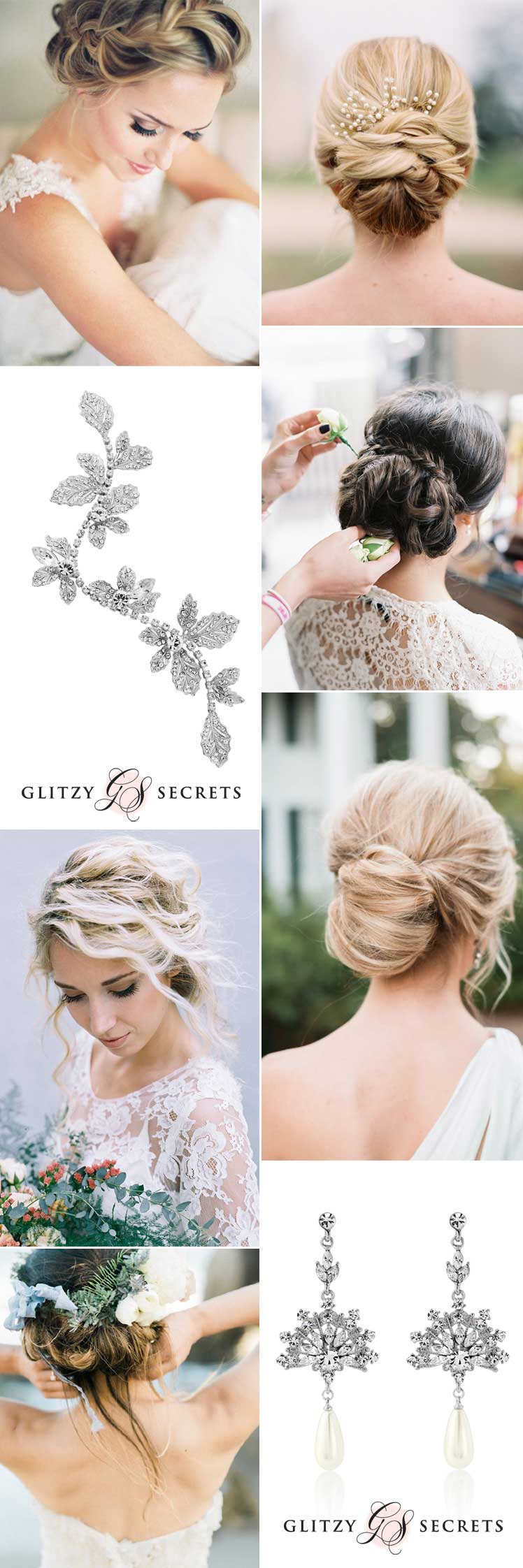 Soft and Flattering Wedding Up-Dos for 2017 - Glitzy Secrets