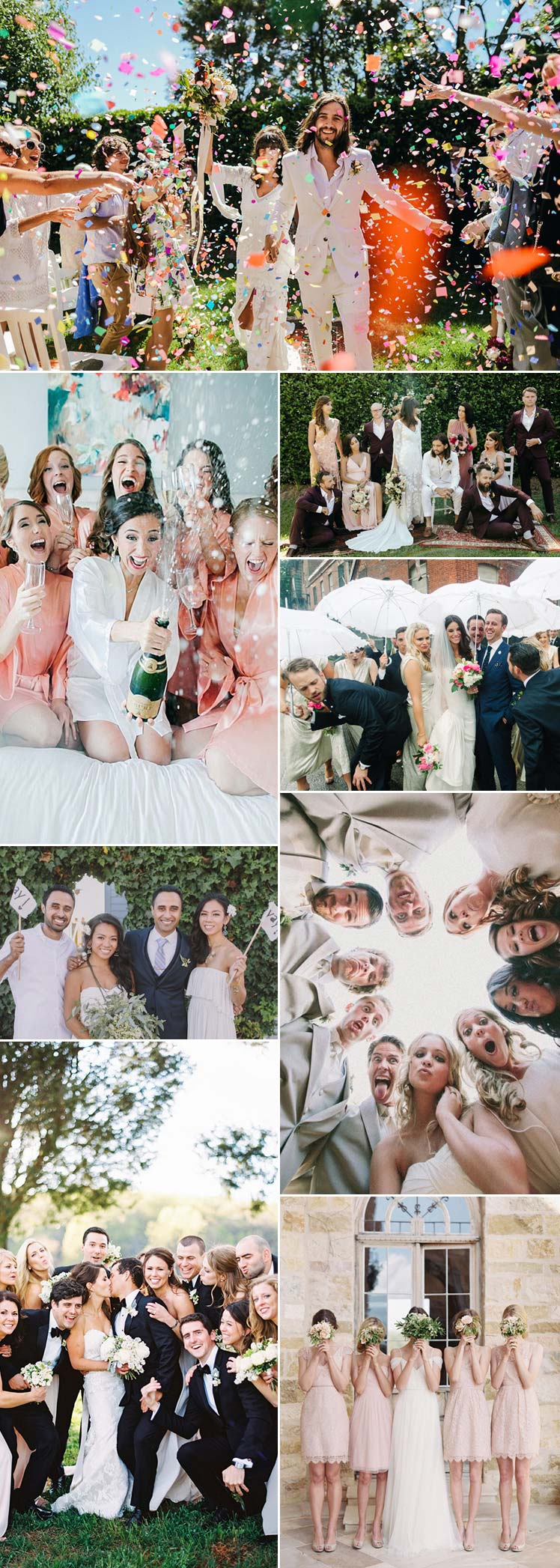 fabulous bridal party photo ideas