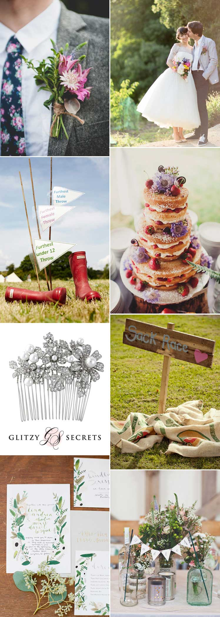 full of summer fun - village fete wedding ideas