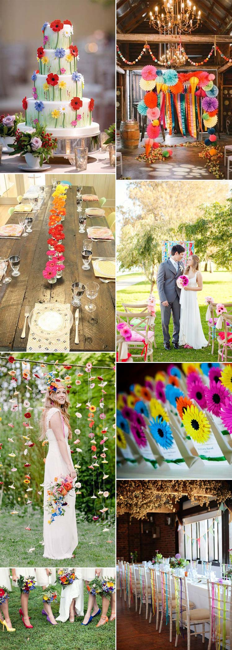 Ideas for including gerberas in your wedding flowers