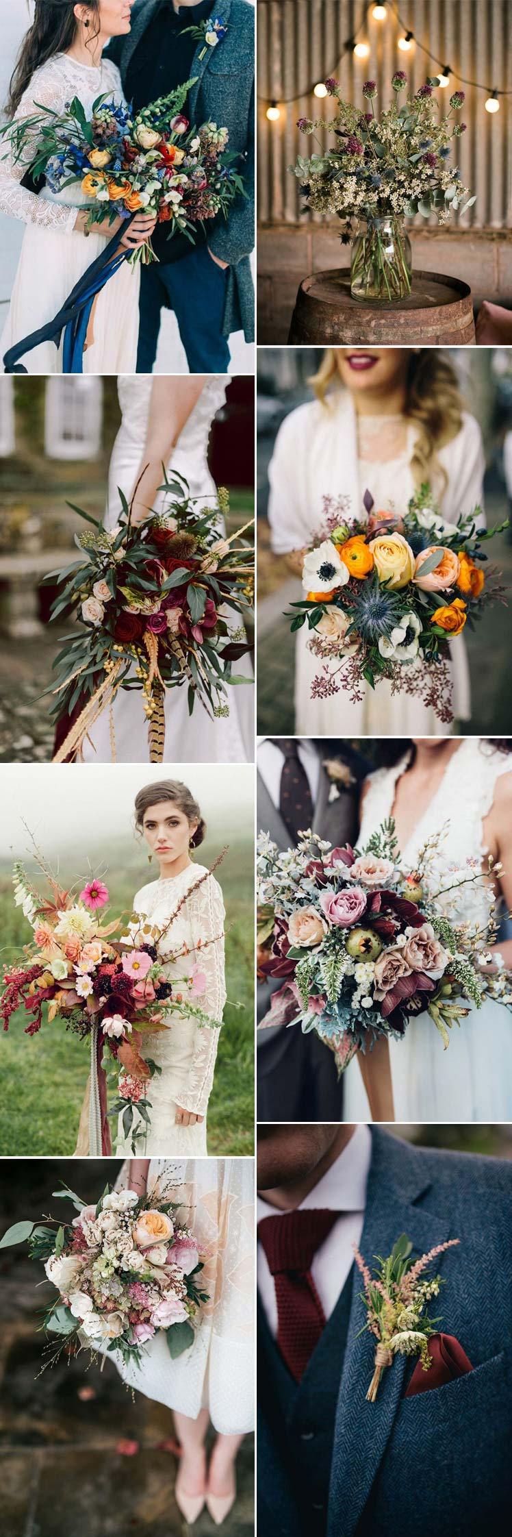 Gorgeous Flowers for an Autumn wedding