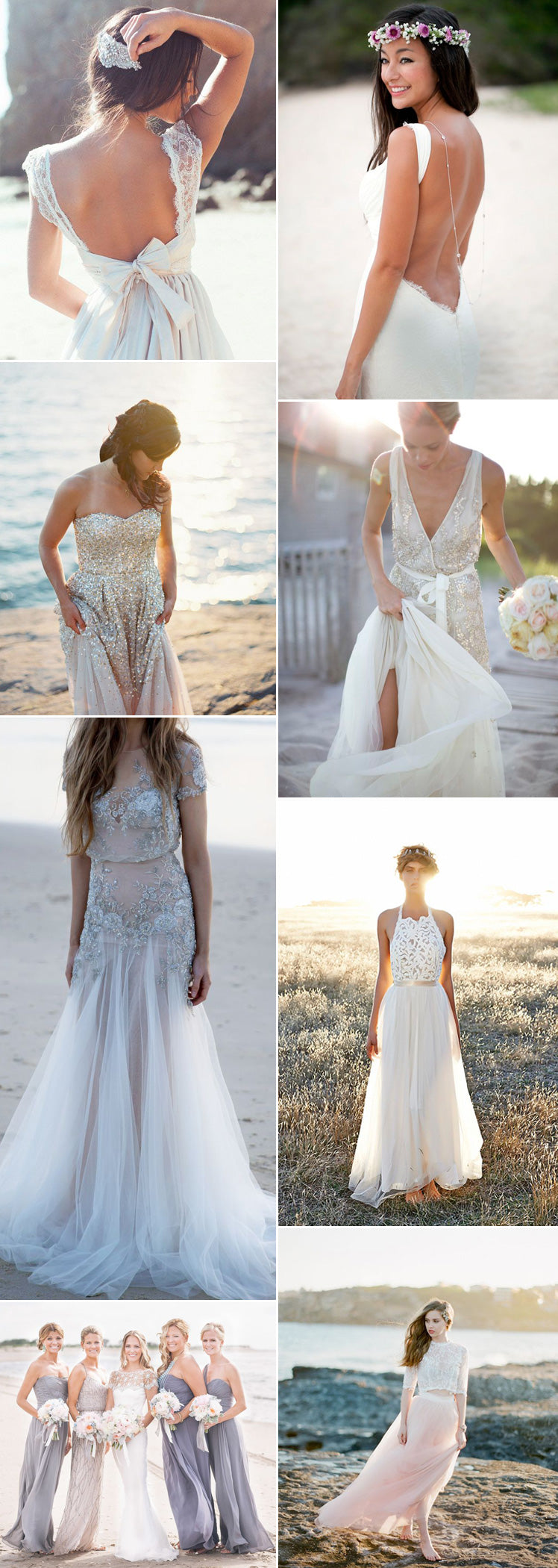be inspired to marry on the beach with our beautiful beach wedding dresses