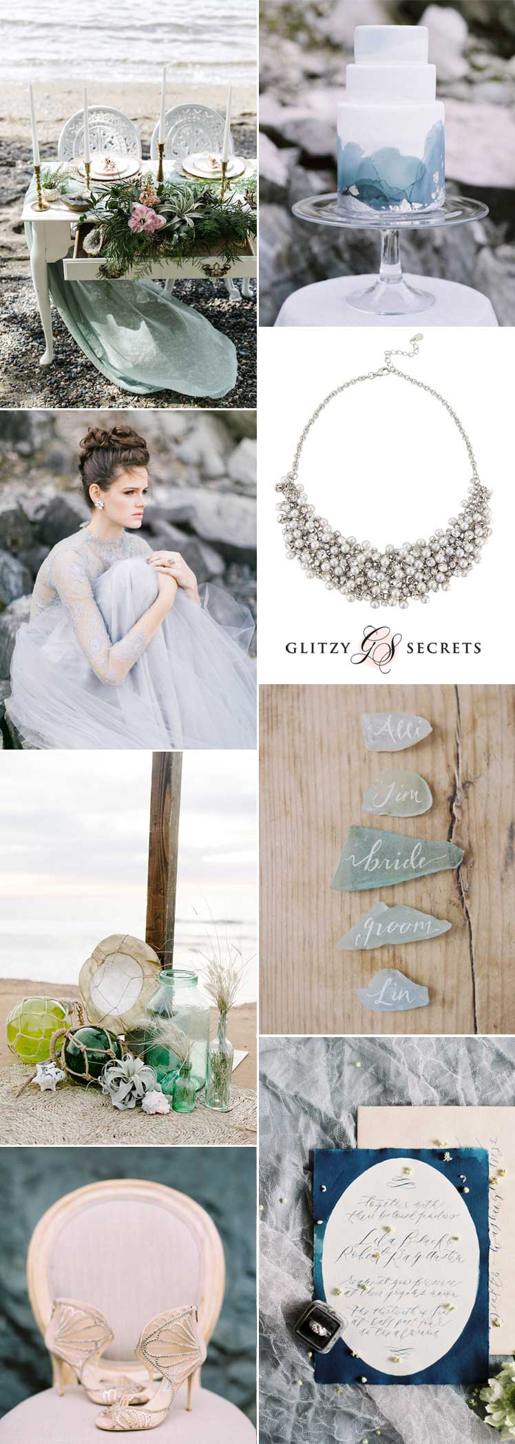 Stunning inspiration for a mermaid wedding