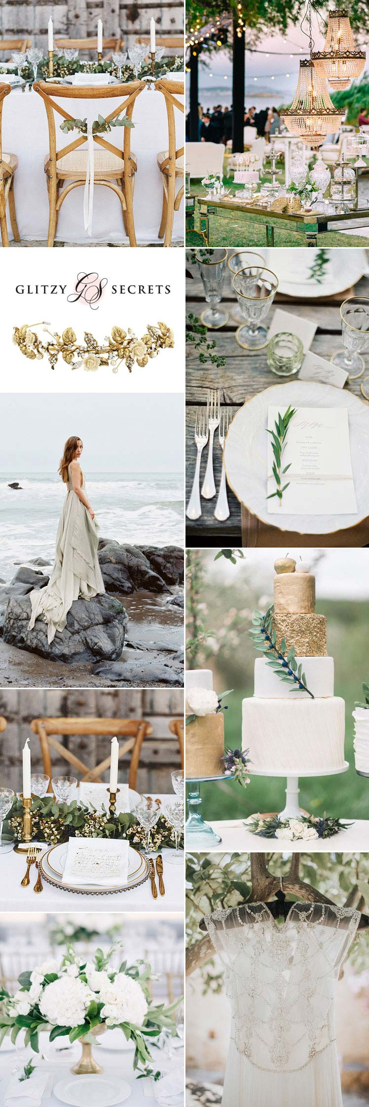 stylish Grecian wedding inspiration
