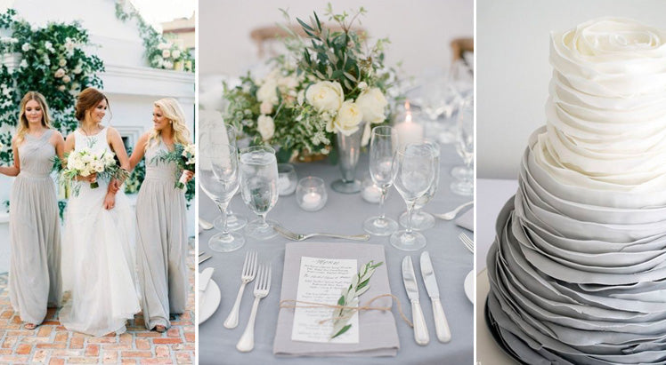 a grey wedding theme