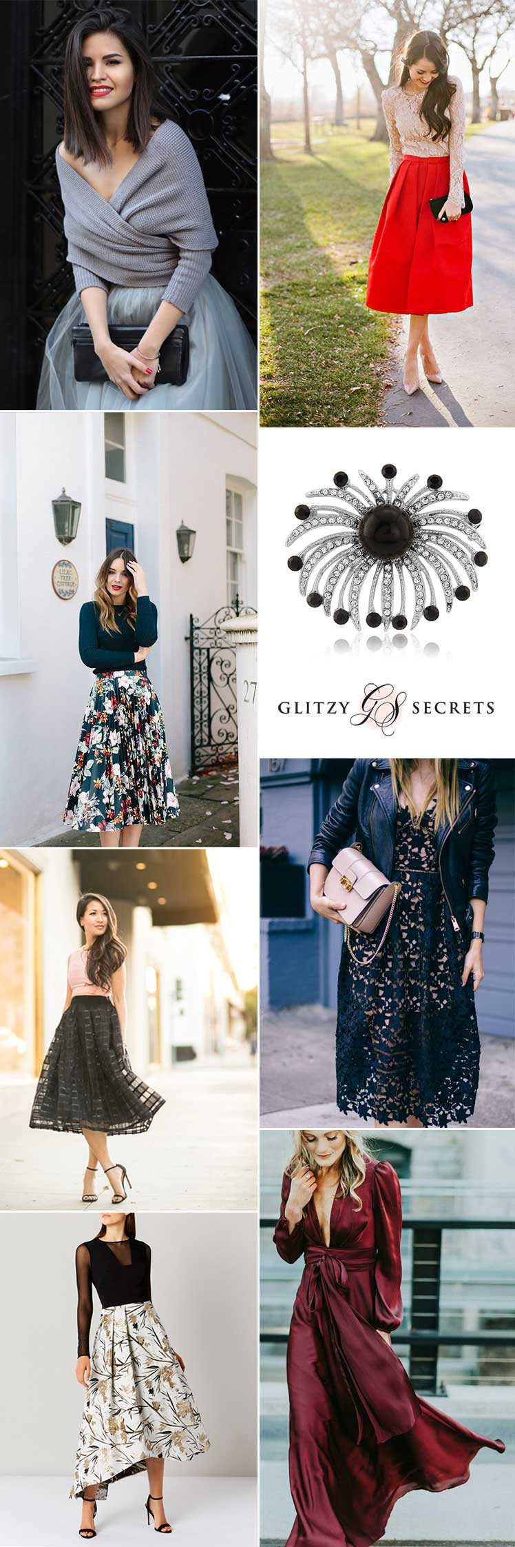stylish guest outfits for a winter wedding