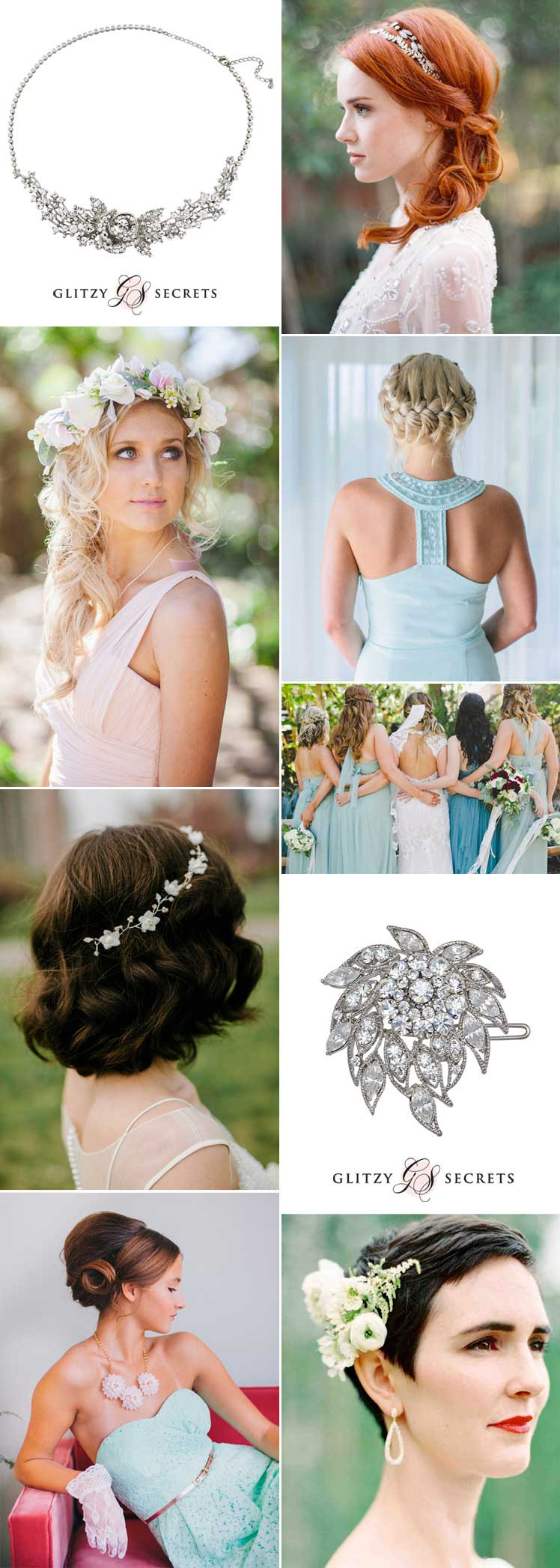 stunning bridesmaid hairstyles