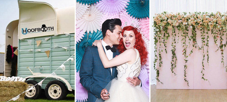 Quirky photo booth and prop ideas for your wedding day