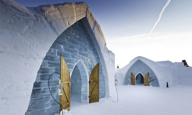 Hotel De Glace Canada as a wedding venue