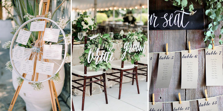 Wedding seating plan ideas and guidance
