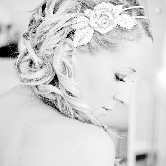 Kelly wears Eternal Rose Side Tiara by Glitzy Secrets