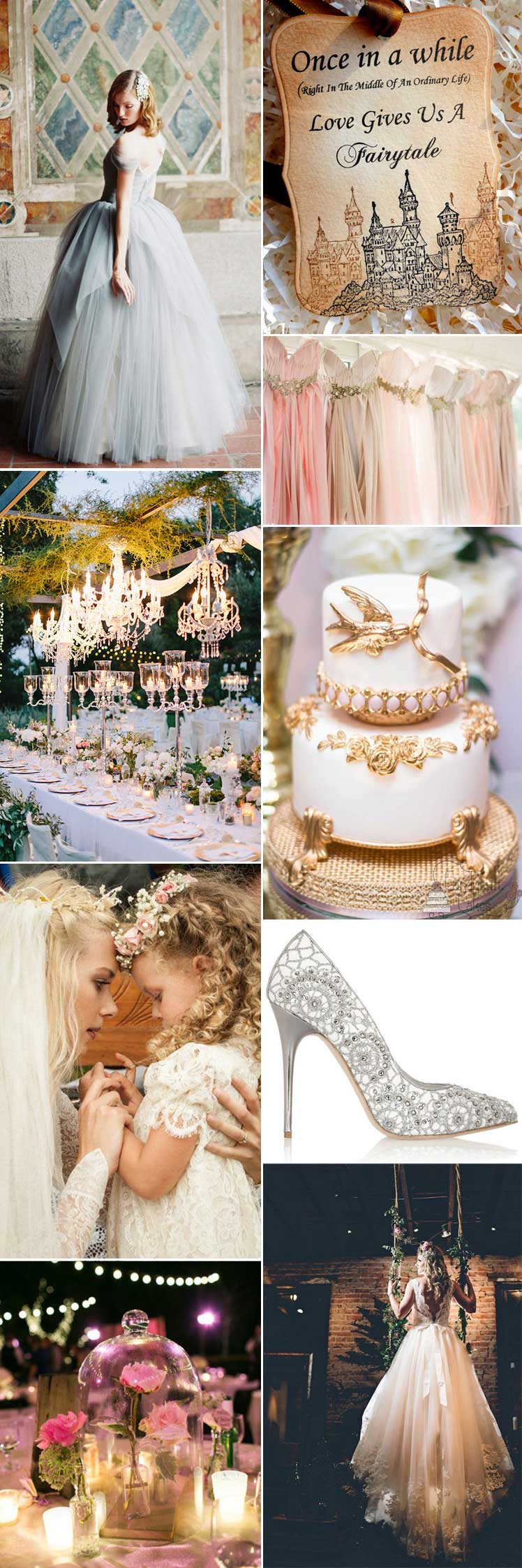 beatuiful fairytale wedding inspiration