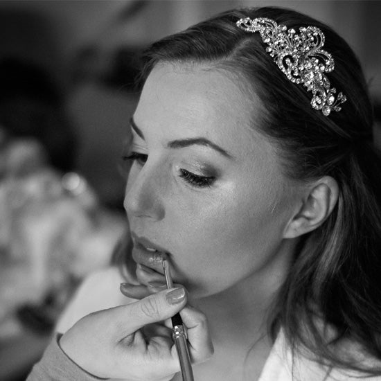 Michaela wears Heirloom of Charm Side Tiara by Glitzy Secrets
