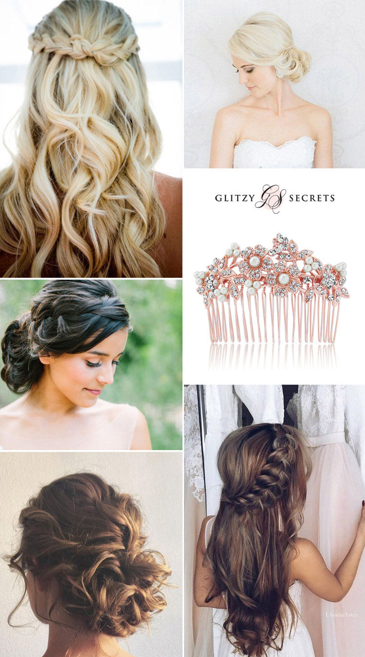 Bridal Hairstyles Classic Or Modern Glitzy Secrets