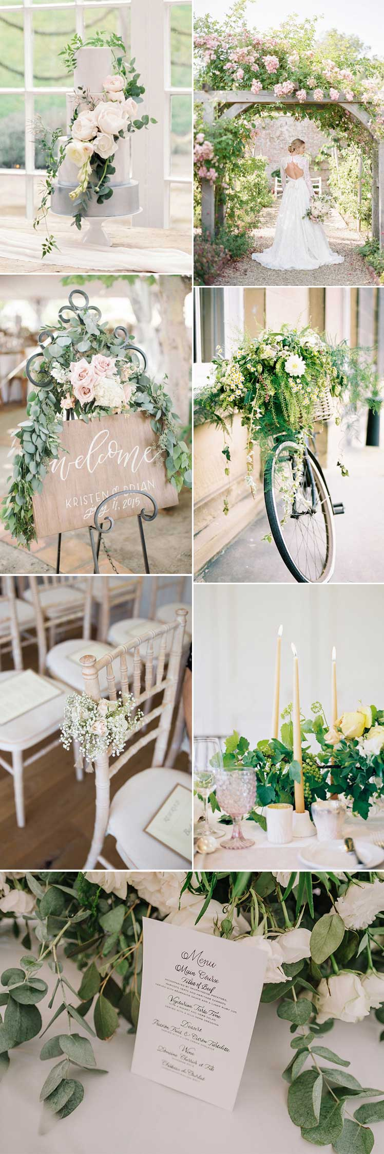 beautiful modern country wedding ideas