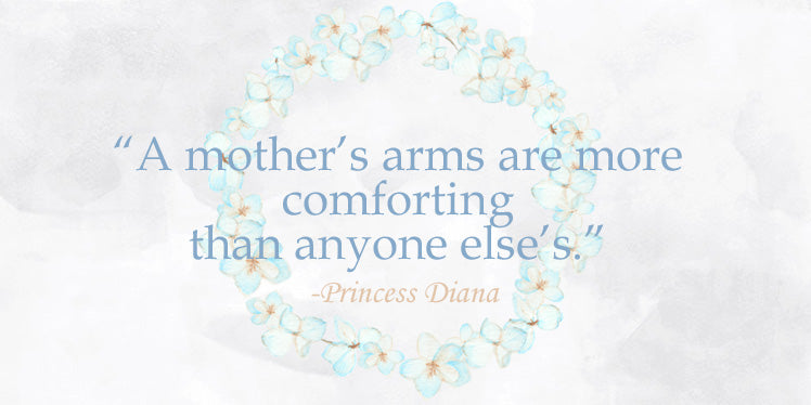 A Mothers's arms