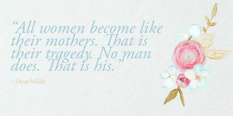 Mother's sentimental quote