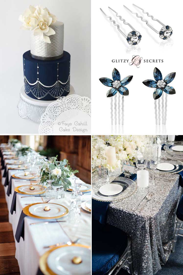 Midnight Dreams: Classic Navy Wedding Ideas - Glitzy Secrets