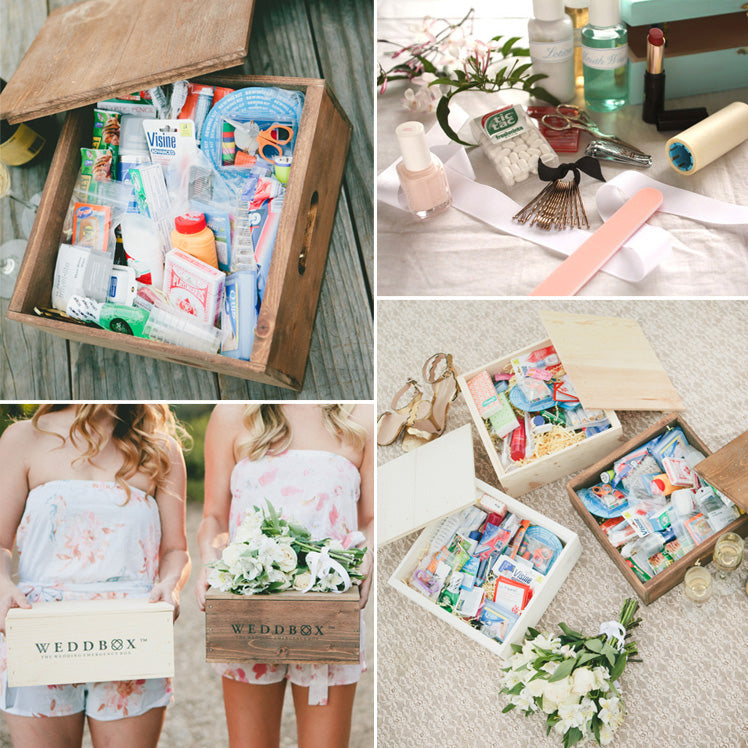 Our tips for your emergency wedding kit