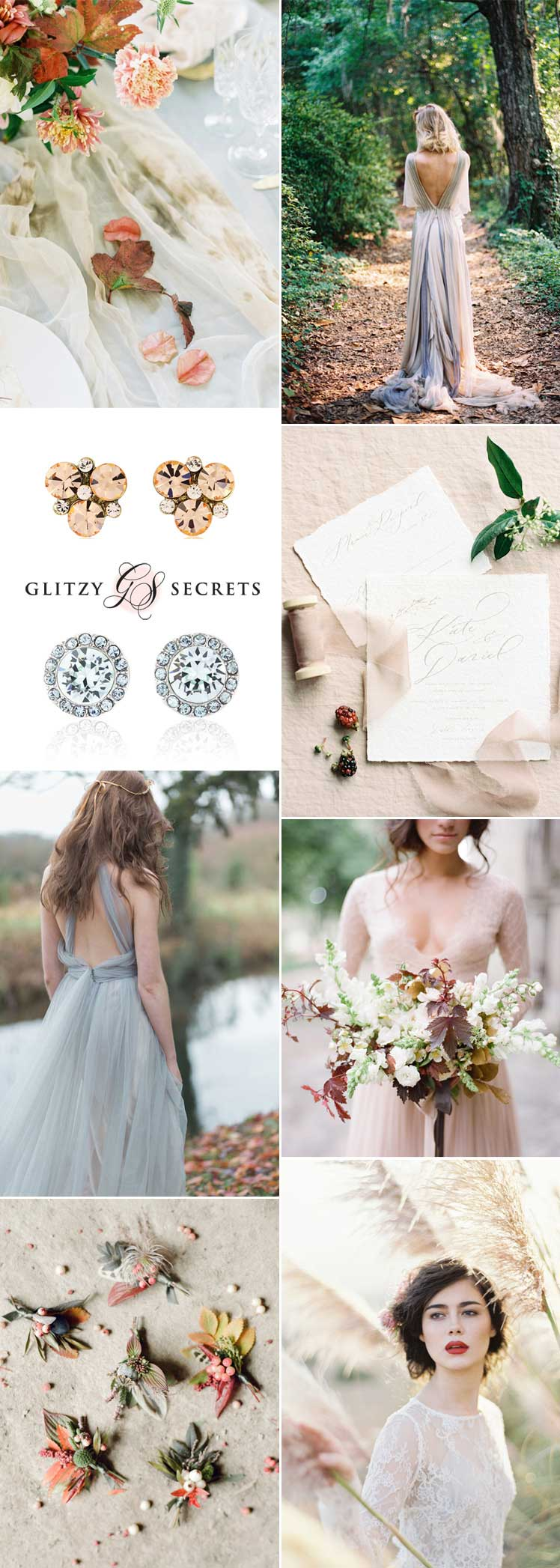 Pale hues autumn wedding inspiration
