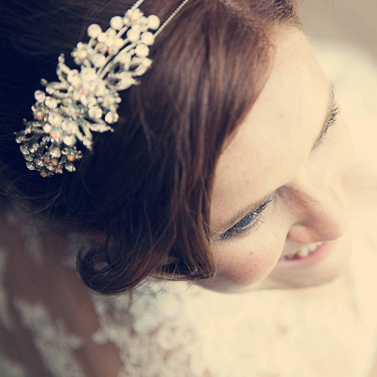 Paloma wears Heirloom of Beauty Side Tiara by Glitzy Secrets