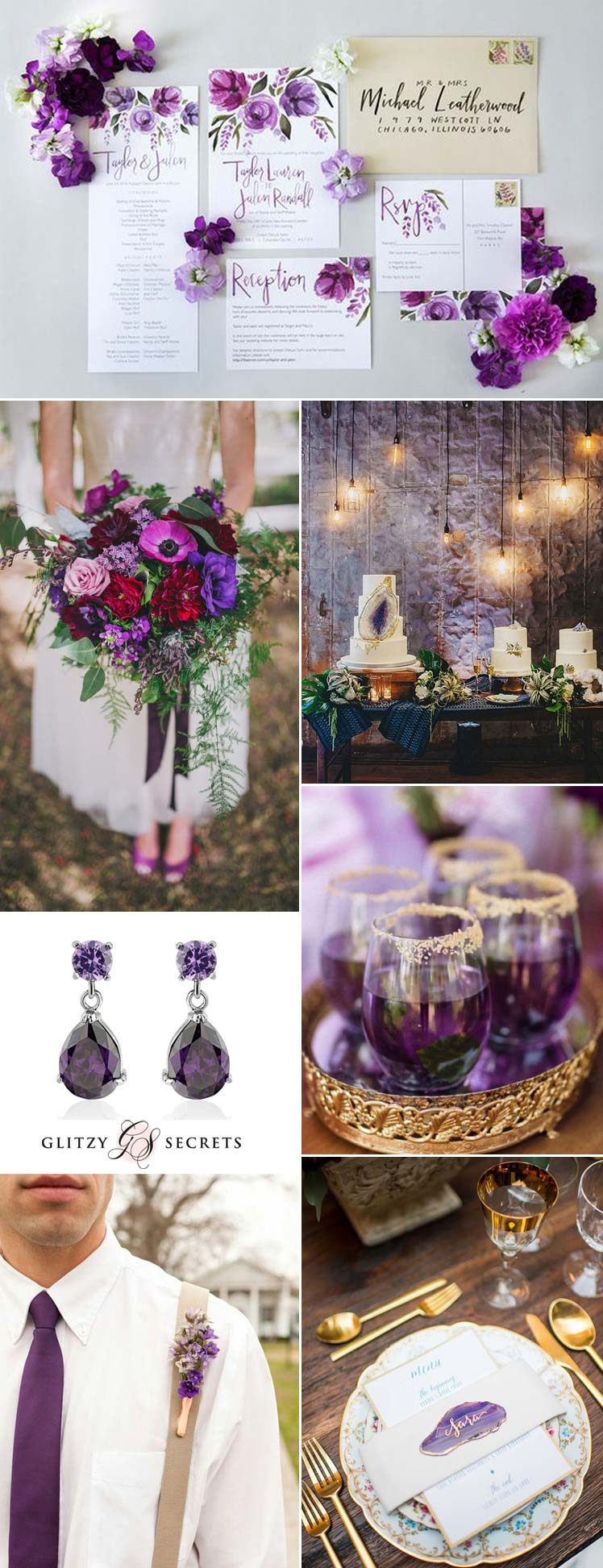 Violet Wedding theme ideas