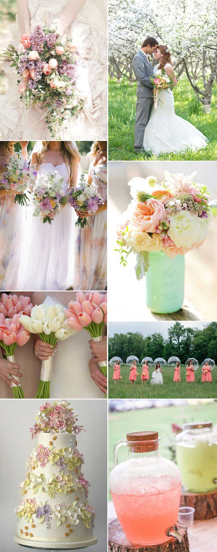 lovely spring wedding inspiration