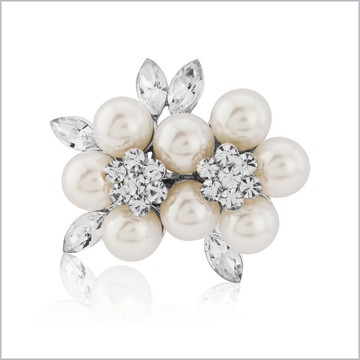 Pearl Wedding Brooch Collection
